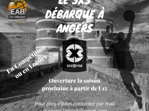 L'arrivée du basket 3X3 à Angers est actée